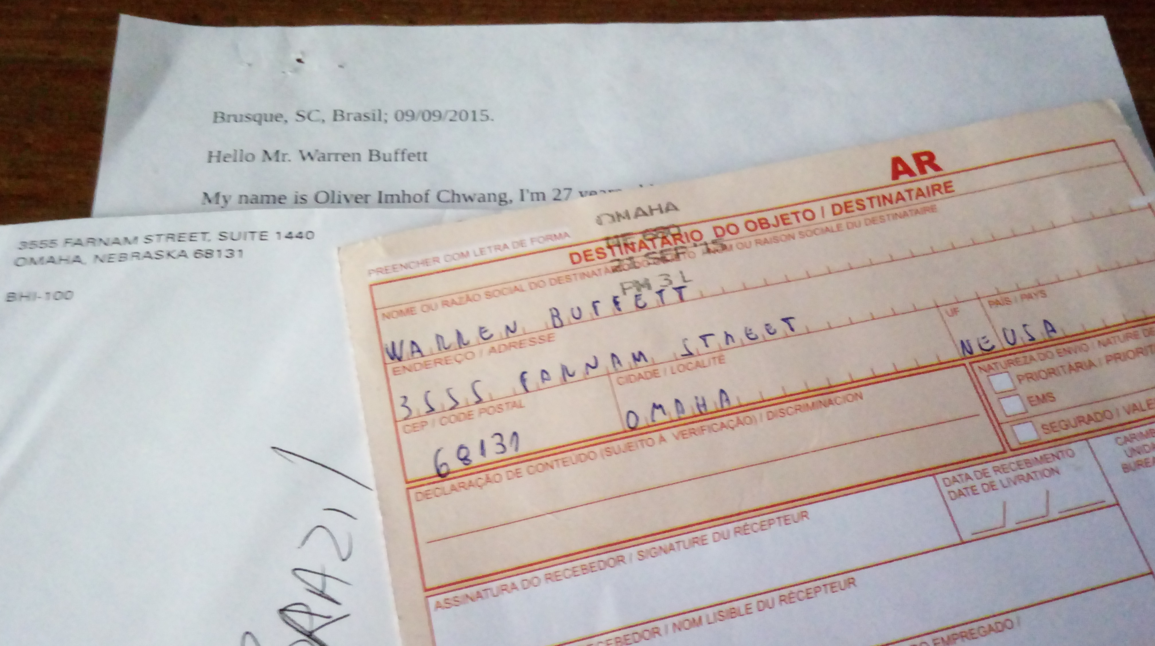 O Dia Em Que Warren Buffett Quase Autografou Minha Nota de 1 Dólar