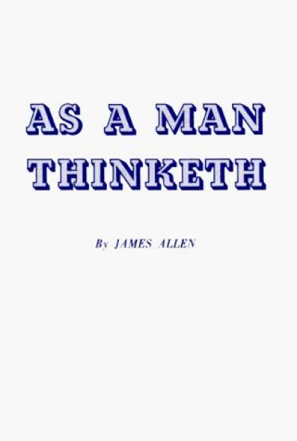 Ebook: As a Man Thinketh