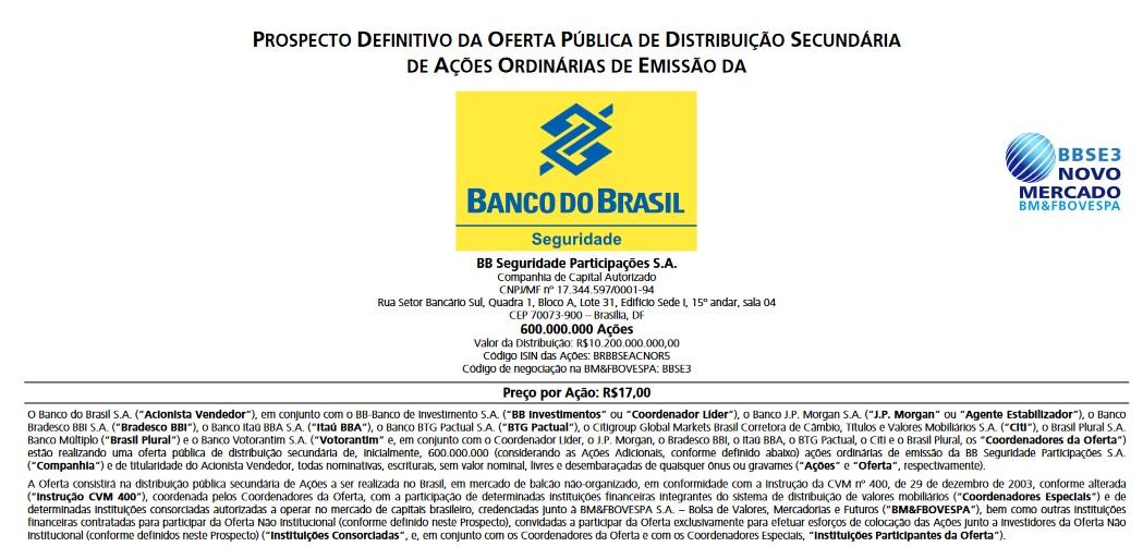 banco do brasil bolsa de valores
